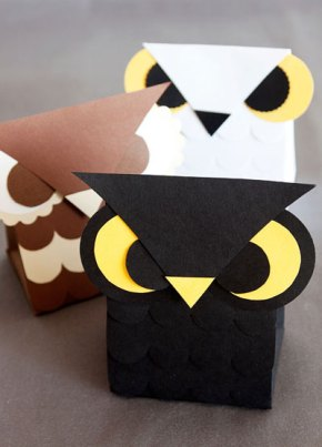 All About the Packaging: Owl Treat Box