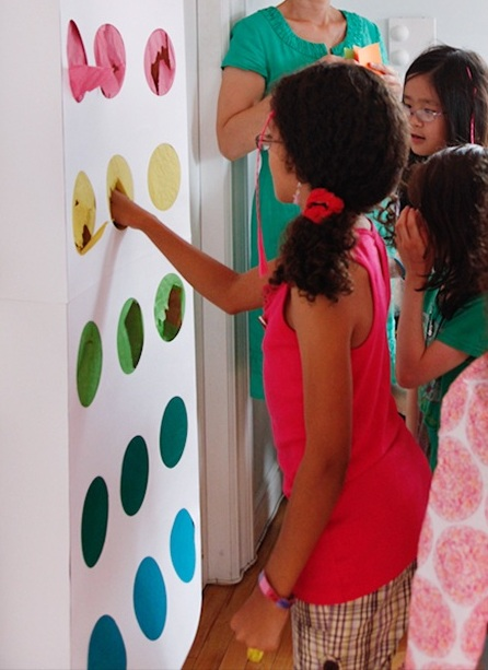 Diy carnival games roommomspot move over pinatas and hello there punch wall some holes have secret prizes within them while others are empty kids will love this unique game solutioingenieria Image collections