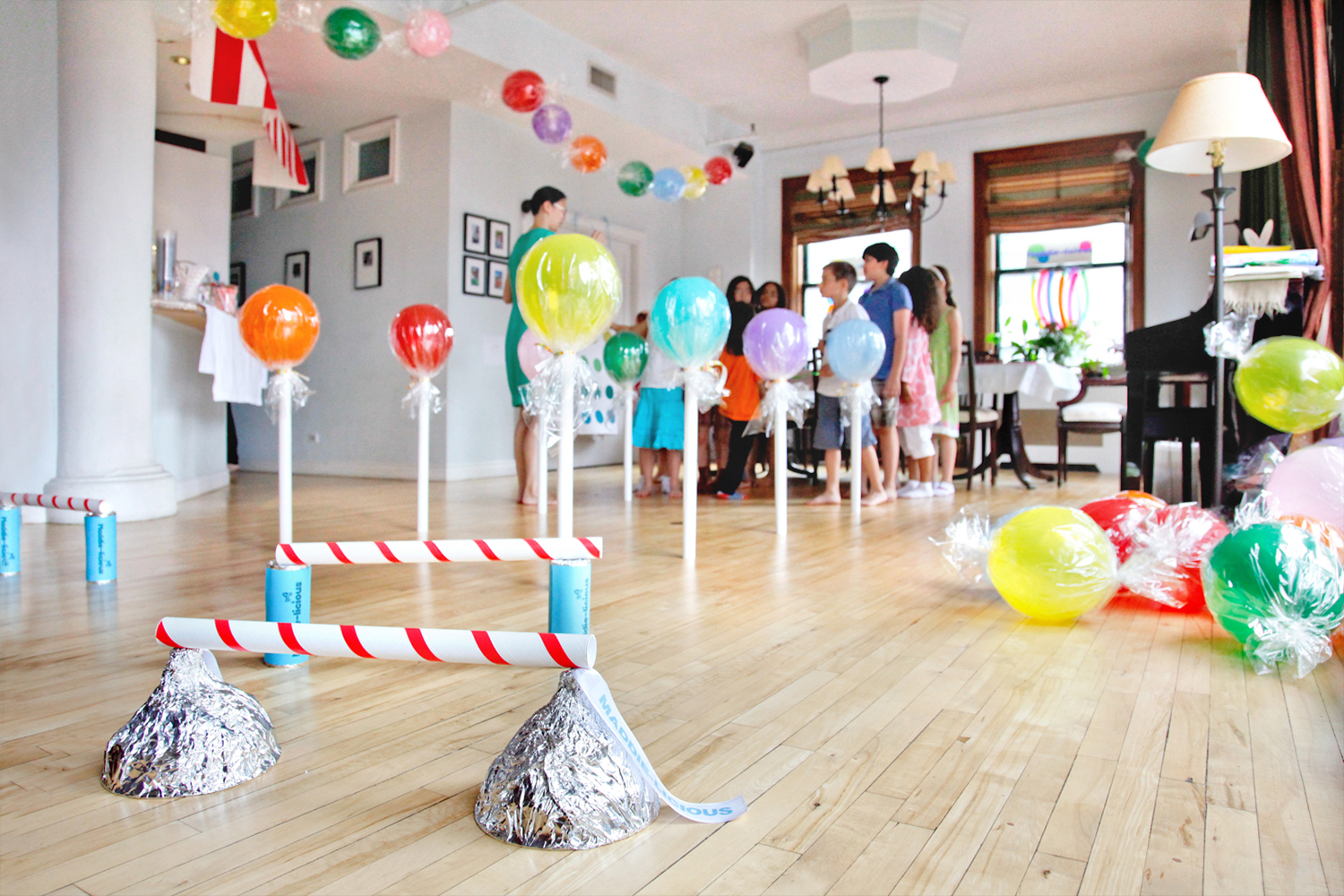 Party time maddie licious celebrate the big small - Ideas para fiestas en casa ...