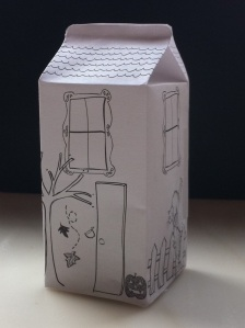 All About the Packaging: Haunted House Milk Carton