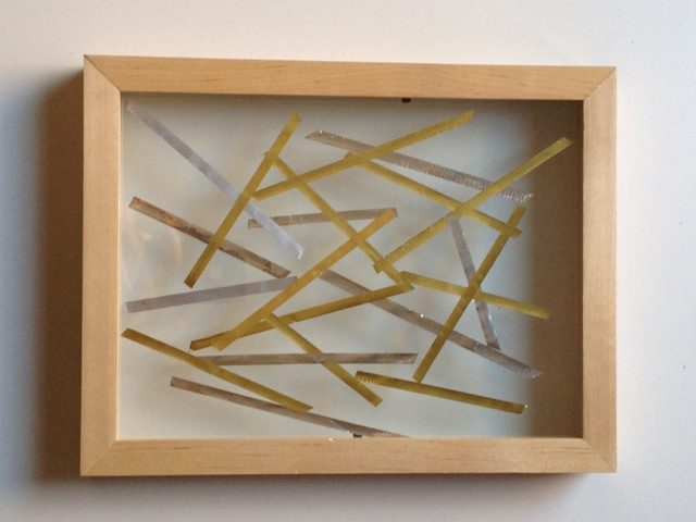 easy diy party frames - Double Glass Frame