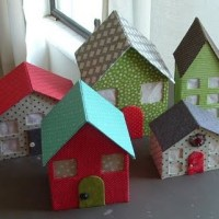 All About the Packaging: Cardboard Houses