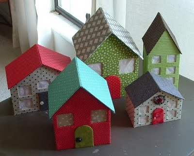 All About the Packaging: Cardboard Houses | Celebrate the Big & Small