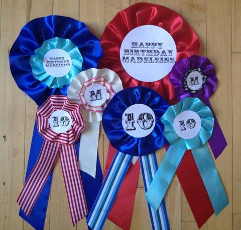 Easy diy award ribbons celebrate the big small for Award decoration