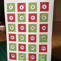 Easy DIY: Mini Punch Box Advent Calendar