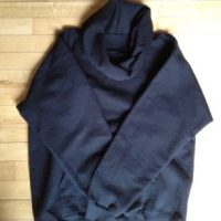 Easy DIY: Hoodie to Cowl Neck