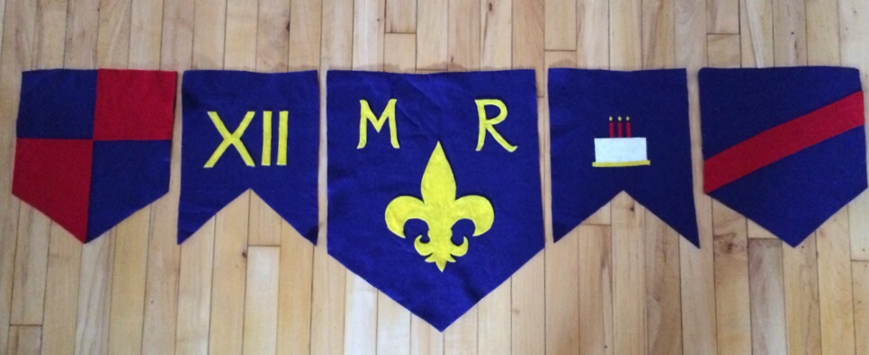 Easy Diy Medieval Birthday Banner Celebrate The Big Small