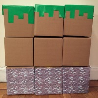 Easy DIY: Minecraft Blocks