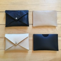 Easy DIY: Leather Gift Card Holders and Envelope Wallets