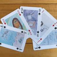 Easy DIY: Personalized Playing Cards
