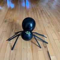Easy DIY: Balloon Spider